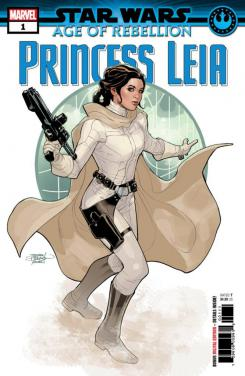 Portada de Star Wars: Age of Rebellion – Princess Leia #1