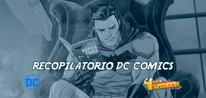 Recopilatorio DC Comics: Campaña Be a Hero, Read a Book