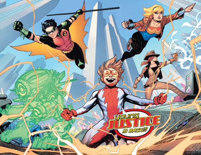 young justice splash
