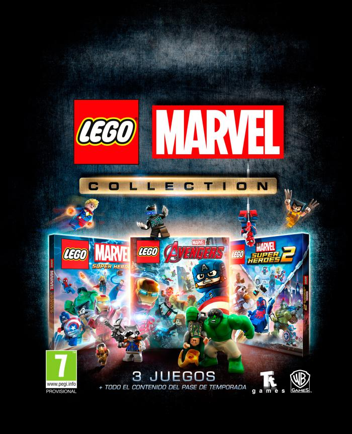 Imagen promocional de LEGO Marvel Collection