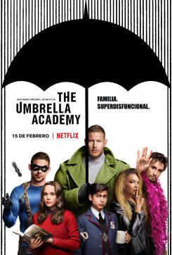 Póster de la primera temporada de The Umbrella Academy