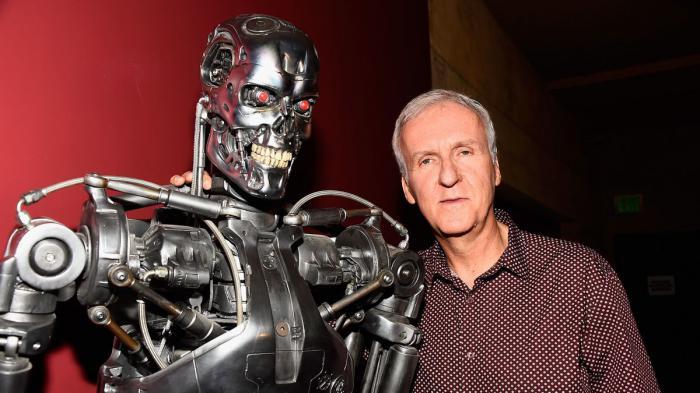 Imagen de James Cameron y Terminator