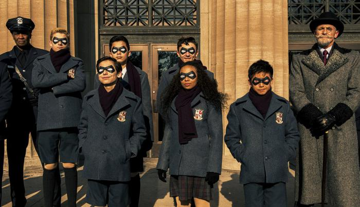 Imagen de la primera temporada de The Umbrella Academy