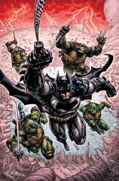 Imagen de Batman/Teenage Mutant Ninja Turtles III