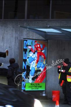 Imagen del set de The Flash