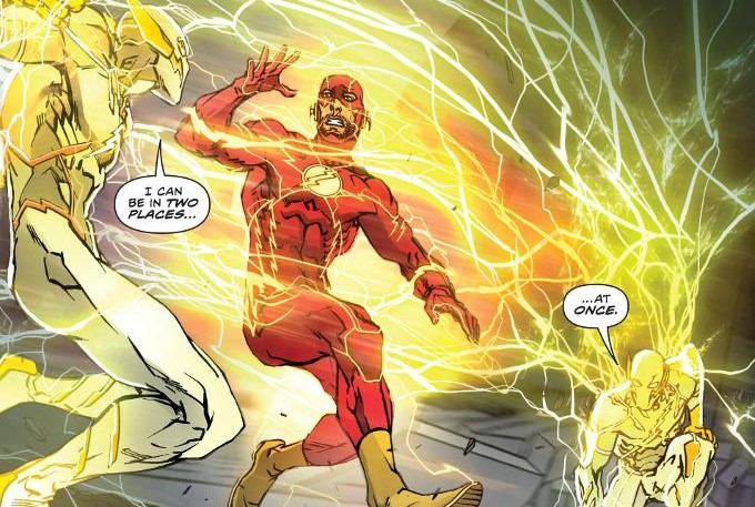 Imagen de Godspeed en The Flash: Rebirth #1