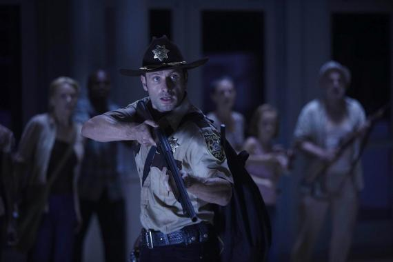 Imagen de la primera temporada de la serie The Walking Dead