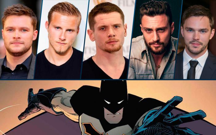 Jack Reynor, Alexander Ludwig, Jack O'Connell, Aaron Taylor-Johnson y Nicholas Hoult rumoreado para Batman