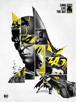 Banner del artwork 80 aniversario de Batman