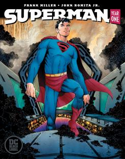 Portada de Superman: Year One, de Frank Miller y John Romita Jr.