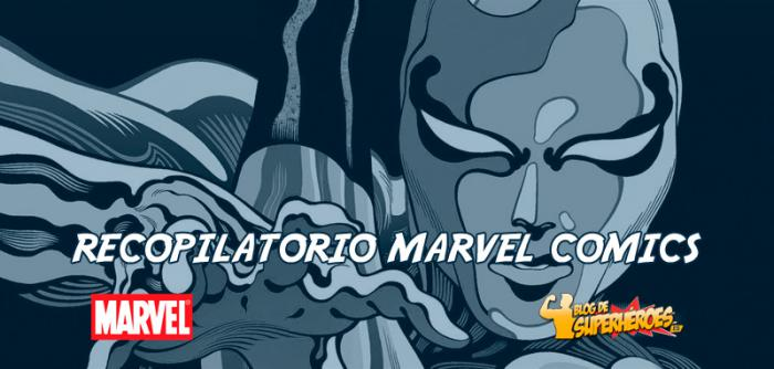 Recopilatorio Marvel Comics: anuncio de Silver Surfer: Black