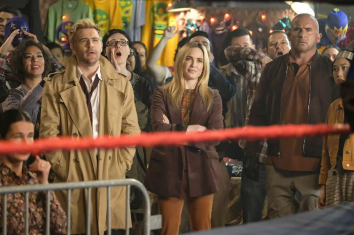 Imagen de Legends of Tomorrow 4x09: Lucha de Apuestas