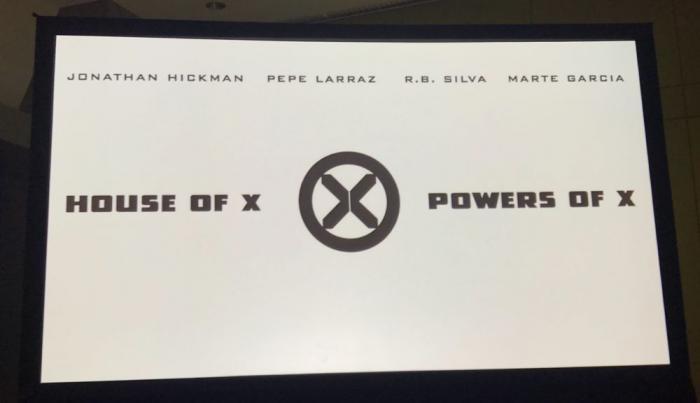 Panel anuncio de House of X y Powers of X