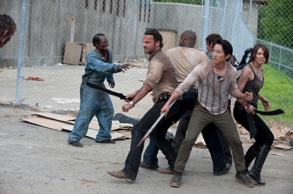 Imagen de la tercera temporada de The Walking Dead (2012 - 2013)