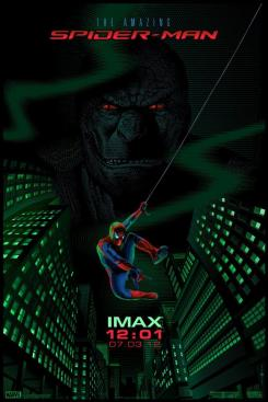 Póster para IMAX de The Amazing Spider-Man (2012)