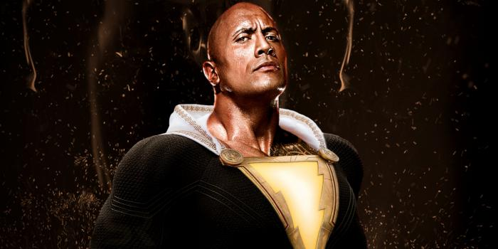 Fan-art de Dwayne Johnson como Black Adam