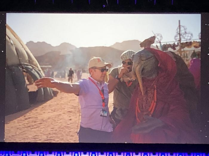 Captura del panel de Star Wars: The Rise of Skywalker (2019) en la Star Wars Celebration