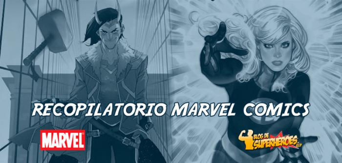 Recopilatorio Marvel Comics: series para Loki y la Mujer Insivible