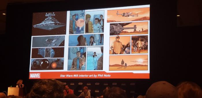 Star Wars #68 en la Star Wars Celebration