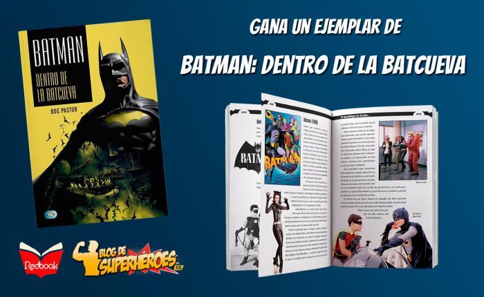 Sorteo de dos ejemplares de Batman: dentro de la batcueva