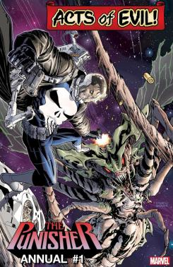Imagen de Acts of Evil: The Punisher Annual #1