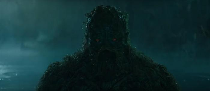 Captura del primer teaser de Swamp Thing