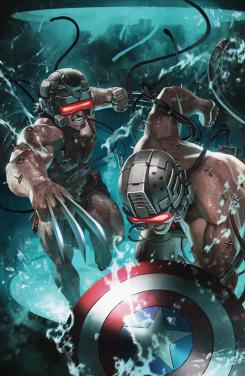 Portada de Wolverine & Captain America: Weapon Plus #1