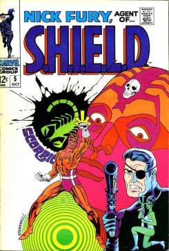 Portada de Nick Fury de Marvel Comics: Agent of S.H.I.E.L.D. #5