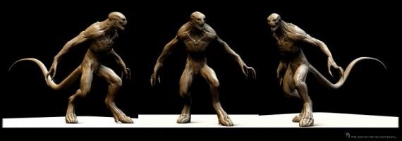 Concept art de The Amazing Spider-Man (2012), por The Aaron Sims Company
