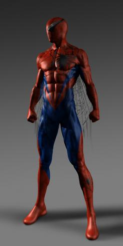Concept art de The Amazing Spider-Man (2012), por Eddie Yang