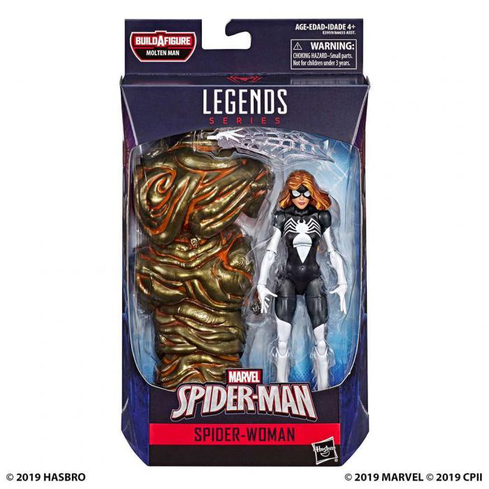 Figura de Marvel Legends de Spider-Man: Lejos de Casa (2019)