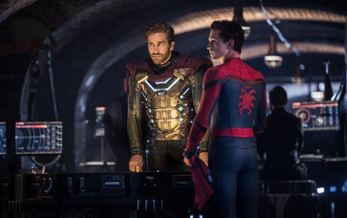 Imagen de Misterio y Spider-Man en Spider-Man: Lejos de Casa (2019)