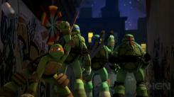 Captura del trailer de Teenage Mutant Ninja Turtles