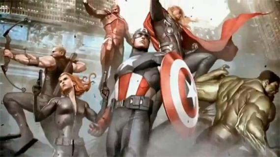 Captura del trailer de The Avengers