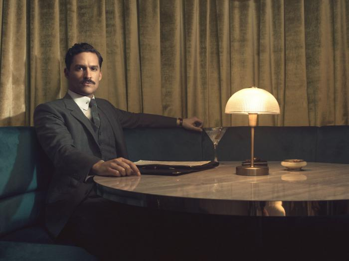Ben Aldridge es Thomas Wayne en Pennyworth