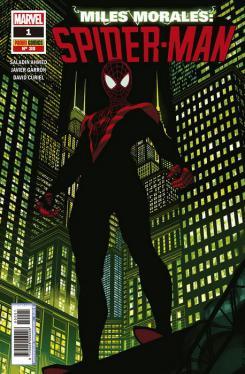 Portada de Miles Morales: Spider-Man, núm. 1