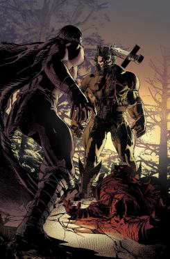 Interior de Savage Avengers #1, por Mike Deodato