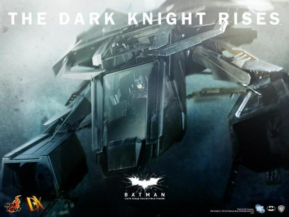Teaser de The Bat de Hot Toys basado en The Dark Knight Rises / El Caballero Oscuro: La Leyenda Renace