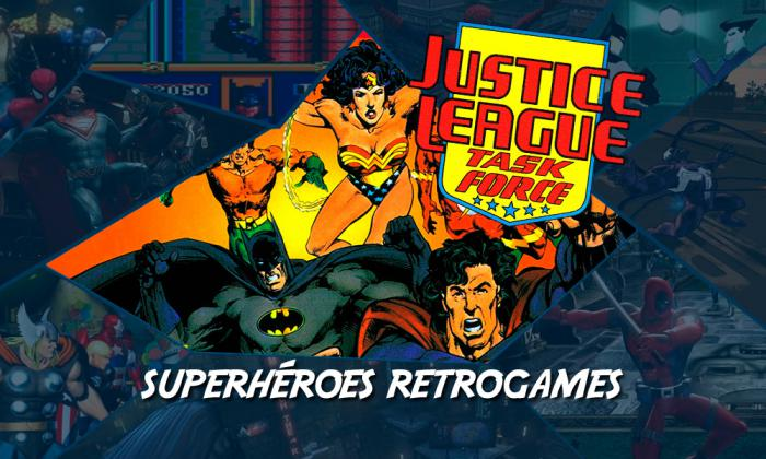 Superhéroes RetroGames: Justice League Task Force