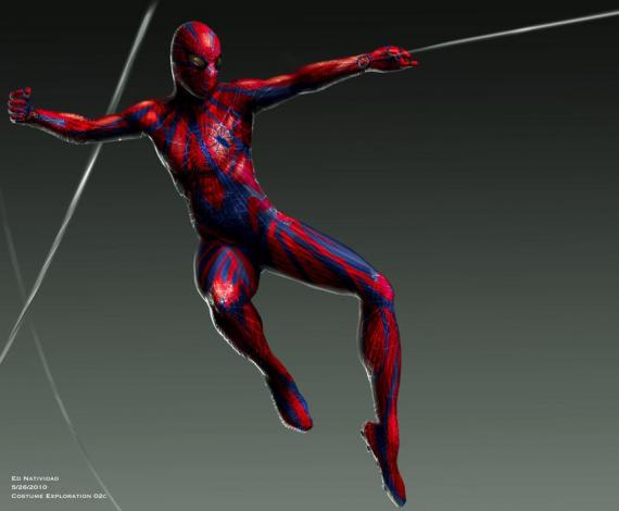 traje spidey horrendo