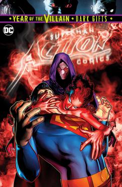 Action Comics #1014, portada por Brandon Peterson (28 de agosto)