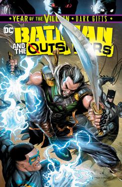 Batman and the Outsiders #4, portada por Tyler Kirkham (14 de agosto)