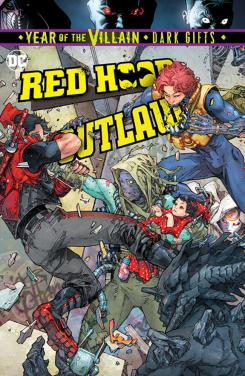 Red Hood: Outlaw #37, portada por Kenneth Rocafort (28 de agosto)
