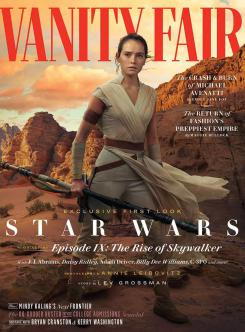Portada de Vanity Fair dedicada a Rey en Star Wars: El Ascenso de Skywalker