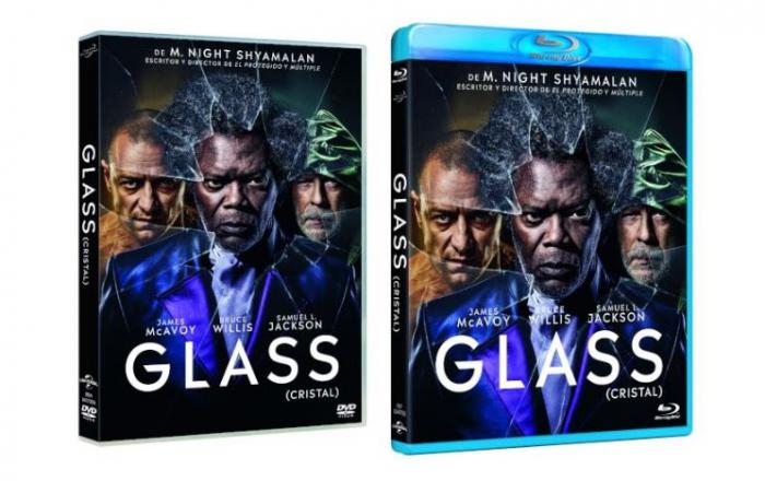 Glass (Cristal) ya disponible en DVD, alta definición y digital en España