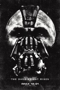 Póster para IMAX de The Dark Knight Rises / El Caballero Oscuro: La Leyenda Renace (2012)