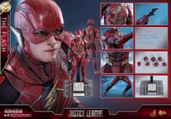 Figura de Flash en Justice League por Hot Toys
