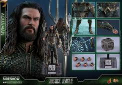 Figura de Aquaman en Justice League por Hot Toys