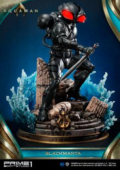 Figura de Black Manta en Justice League de Prime 1 Studio