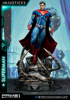 estatua superman injustice prime 1